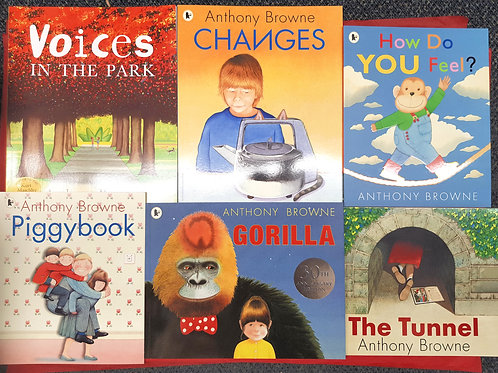 Anthony Browne Picture Books