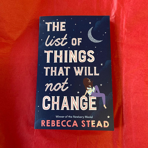 The List of Things That Will Not Change | Rebecca Stead