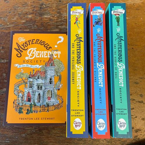 The Mysterious Benedict Society Series | Trenton Lee Stewart