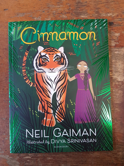 Cinnamon | Neil Gaiman and Divya Srinivasan