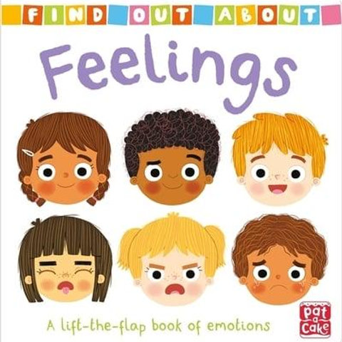 Feelings: A Lift-the-Flap Book of Emotions   Kathy Gordon and Louise Forshaw