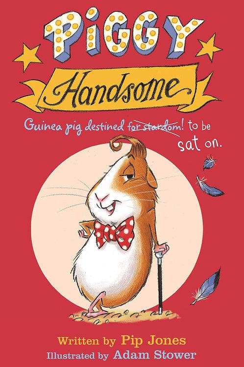 Piggy Handsome: Guinea Pig Destined for Stardom! | Pip Jones