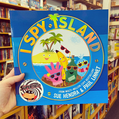 I Spy Island | Sue Hendra & Paul Linnet