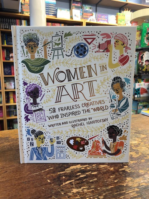 Women in Art | Rachel Ignotofsky