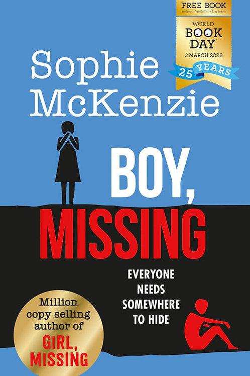 Pack of 50: Boy, Missing   Sophie McKenzie