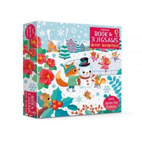 Winter Wonderland: 3 Jigsaws & Book