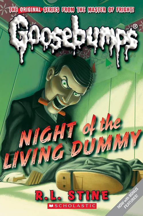 Night of the Living Dummy | RL Stine