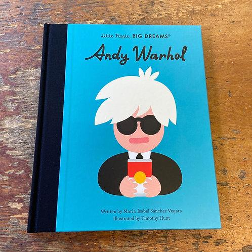 Andy Warhol [Little People Big Dreams]   Maria Isabel Sanchez Vegara