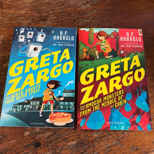 Greta Zargo and the Death Robots from Outer Space | A.F. Harrold
