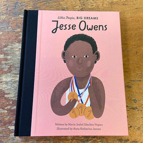 Jesse Owens [Little People Big Dreams]   Maria Isabel Sanchez Vegara