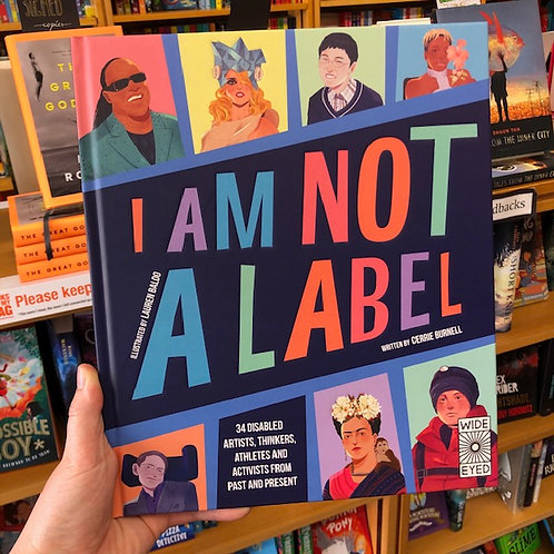 I am not a Label | Cerrie Burnell
