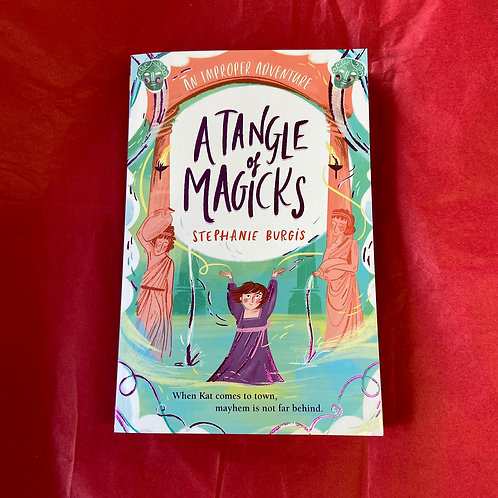 A Tangle of Magicks | Stephanie Burgis