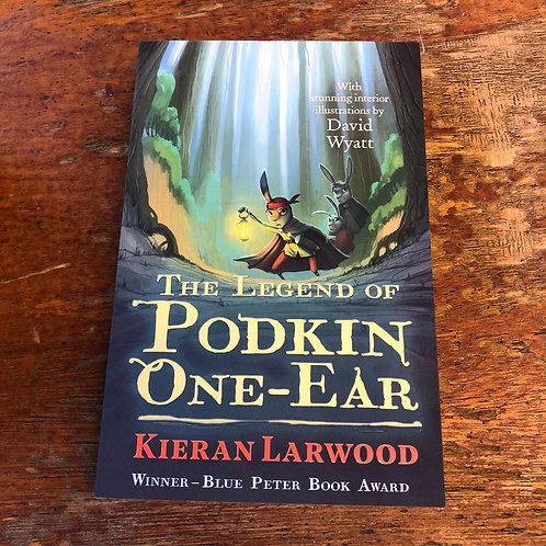 The Legend of Podkin One-Ear Series | Kieran Larwood