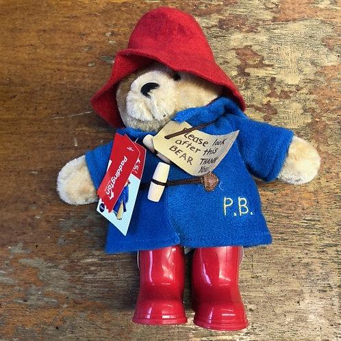 Paddington Plush with Rubber Wellington Boots