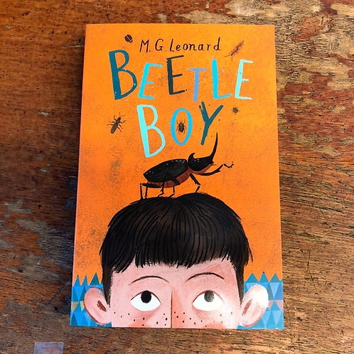 Beetle Boy Trilogy | M. G. Leonard