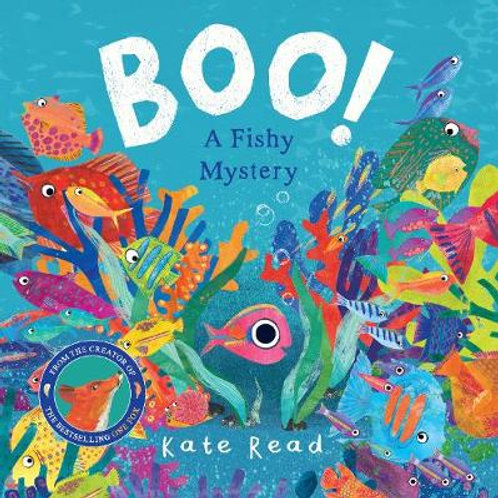 Boo! A Fishy Mystery   Kate Read
