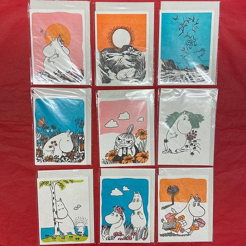 Blank Moomin Card