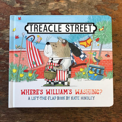 Where's William's Washing?   Kate Hindley