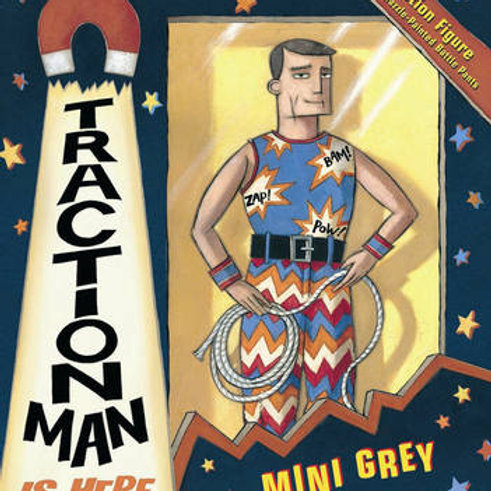 Traction Man is Here   Mini Grey