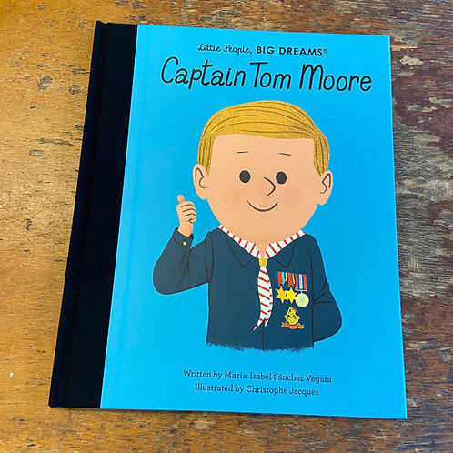 Captain Tom Moore [Little People Big Dreams] | Maria Isabel Sanchez Vegara