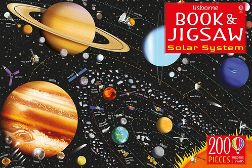 The Solar System & Space: Jigsaw and Book