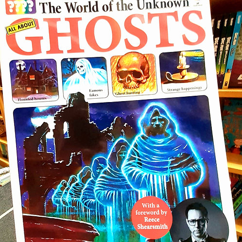 GHOSTS: Usborne World of the Unknown | Reece Shearsmith