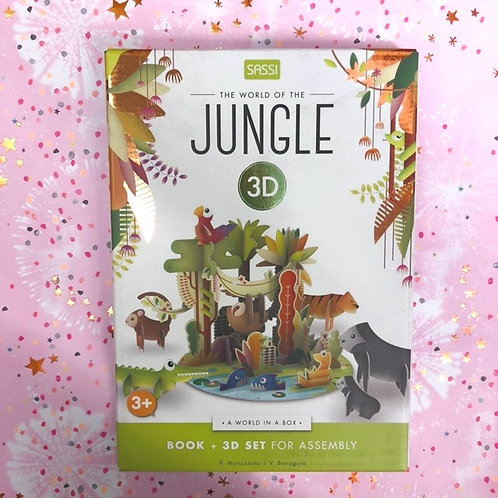 The World of the Jungle 3D Puzzle Game
