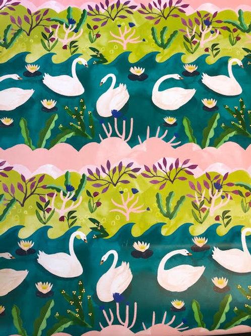 Swan Lake Gift Wrap