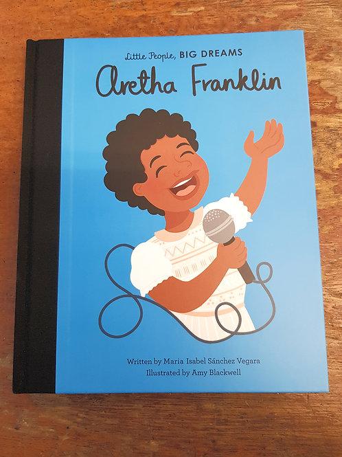 Aretha Franklin [Little People Big Dreams]   Maria Isabel Sanchez Vegara