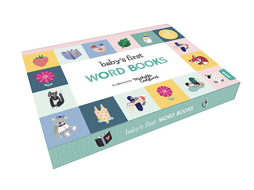 Baby's First Word Books Boxset