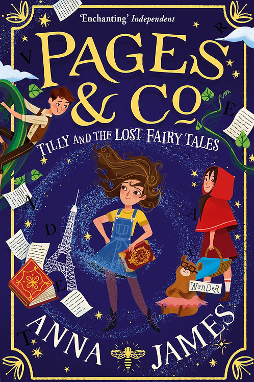 Tilly and the Lost Fairy Tales | Anna James
