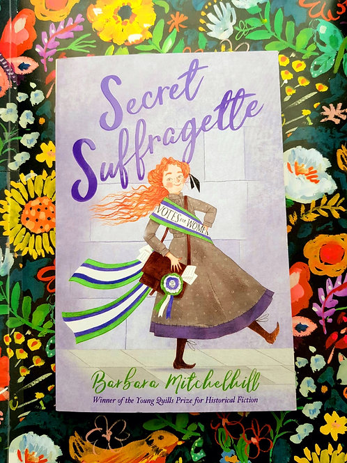 Secret Suffragette |  Barbara Mitchelhill