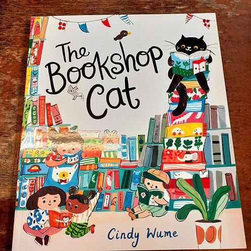 Bookshop Cat   Cindy Wume
