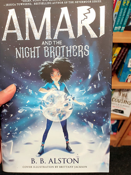Amari and the Night Brothers | BB Alston