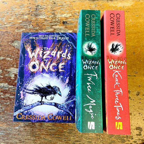 The Wizards of Once Series   Cressida Cowell