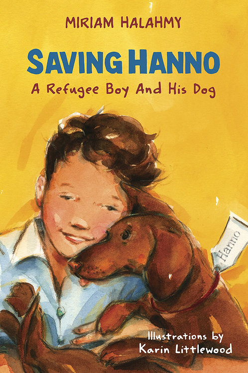 SAVING HANNO   Miriam Halahmy