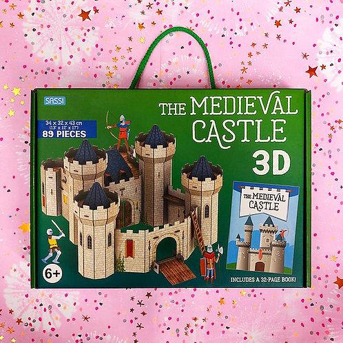 Medieval Castle 3D Puzzle