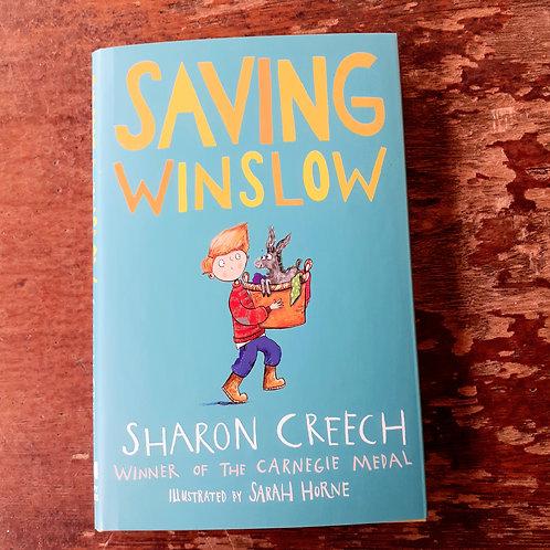 Saving Winslow | Sharon Creech
