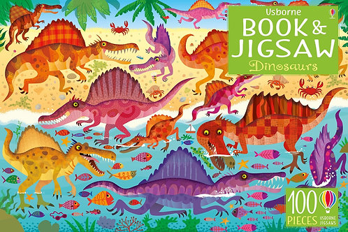Dinosaurs Book and Jigsaw