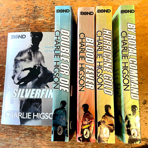Silverfin, Young Bond Series | Charlie Higson