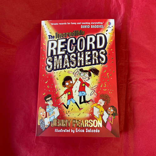 The Incredible Record Smashers | Jenny Pearson