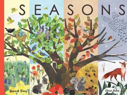 Seasons: A Year in Nature   Hannah Pang and Clover Robin