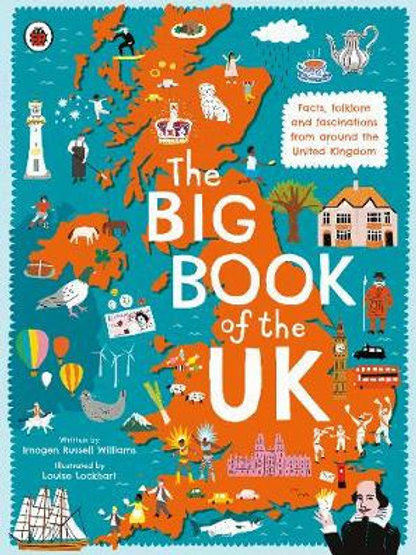  The Big Book of the UK   Imogen Russell Williams (