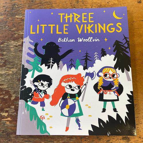 Three Little Vikings   Bethan Woollvin