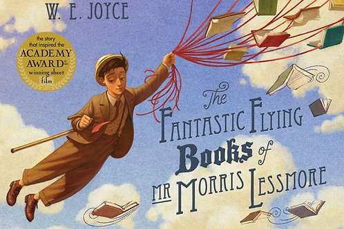 Fantastic Flying Books of Mr Morris Lessmore |  W. E. Joyce