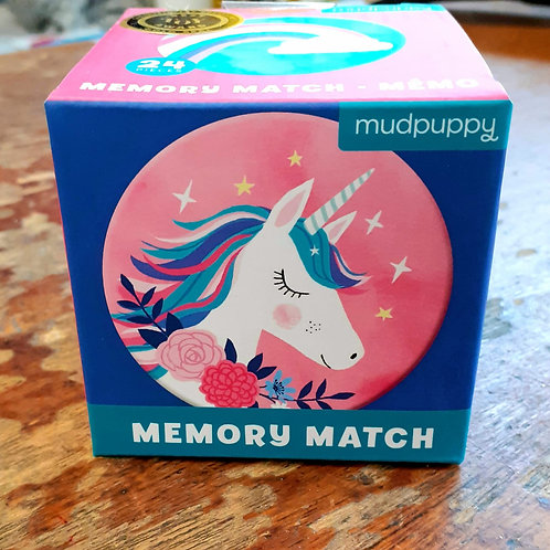 Memory Match: Unicorn Magic