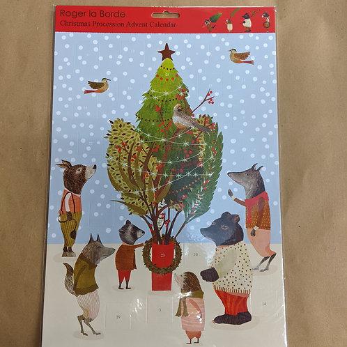 Christmas Procession Advent Calendar