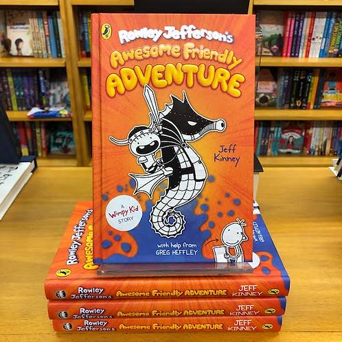 Rowley Jefferson's Awesome Friendly Adventure | Jeff Kinney