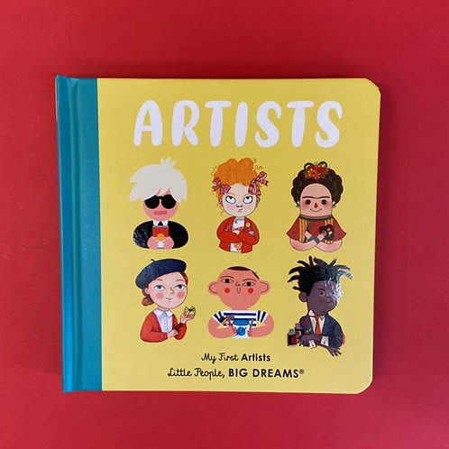 My First Artists | Little People Big Dreams