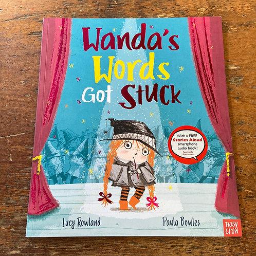 Wanda's Words got stuck   Lucy Rowland and Paula Bowles